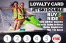 Jet Ski Double Loyalty Card