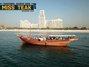 Miss Teak Arabian Dhow Cruise