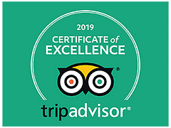 Adventure Sports Certificate of Excellence from tripadvisor